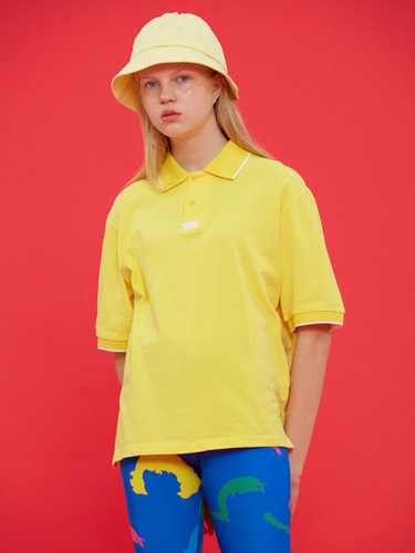 DOLLS ONLY LOGO COLLAR T/YELLOW